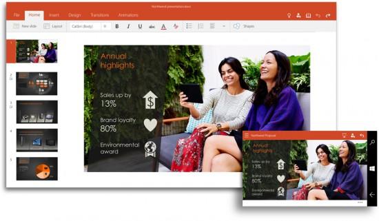 Microsoft también anunció a Office 2016, destinado al escritorio